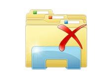 Windows 7 gezgini araç çubuğuna sil ilavesi
