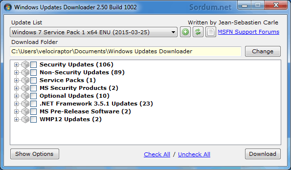 Windows Update Downloader