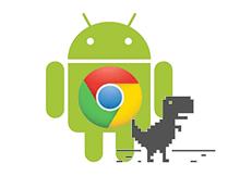 Android telefonlarda chrome ile çevrimdışı sayfa görüntüleme