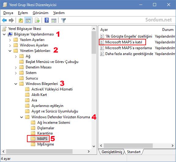 Microsoft MAPS a katıl