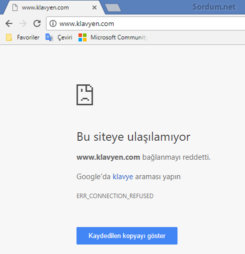 URL Engellendi