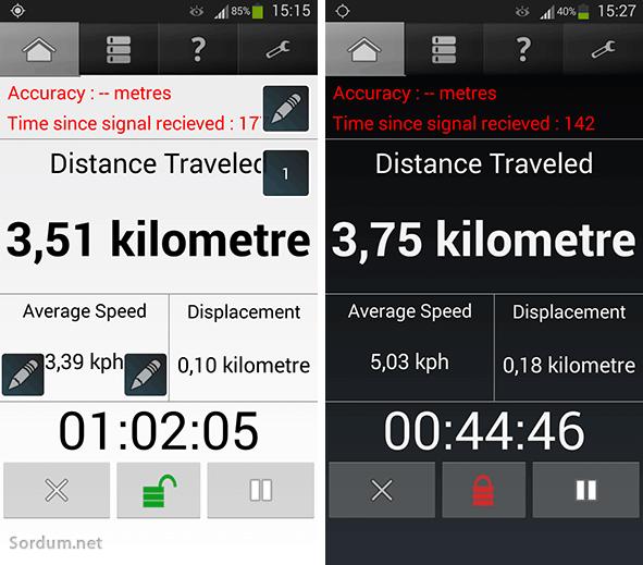 GPS mesafe ölçer
