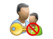 Standart kullanıcılar şifre değiştiremesin