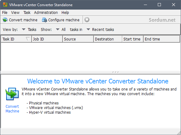 vmware center converter