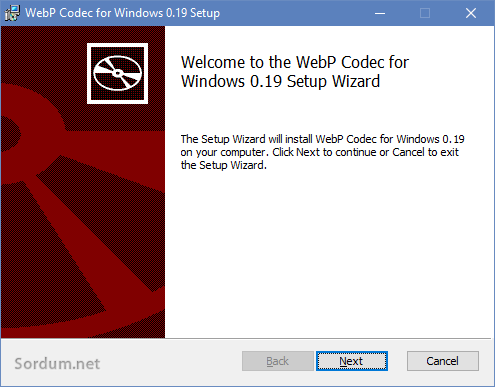 Webp kodek paketi