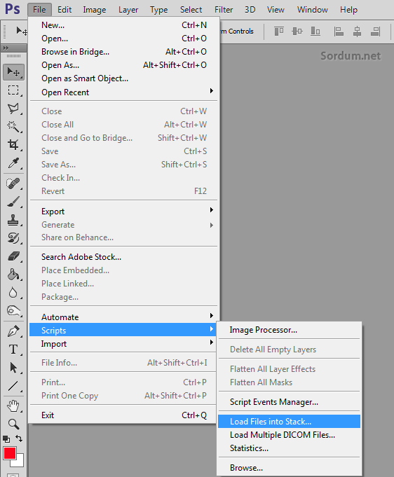 Photoshop scripts