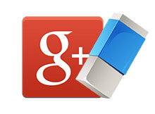Google plus hesabı silme