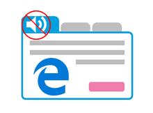 Microsoft EDGE de sekme sesi nasıl susturulur