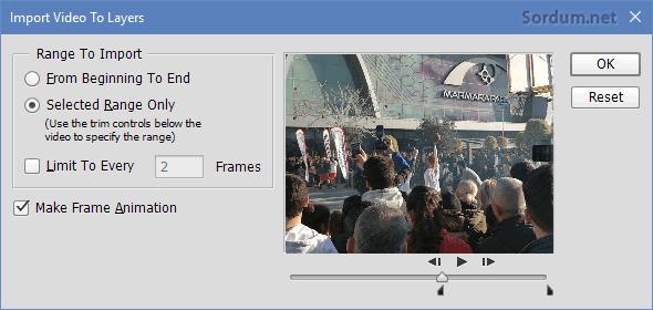photoshop animasyon frame