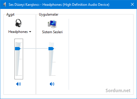 Ses düzeyi karıştırıcısı