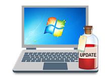 Windows 7 güncellenmiyor