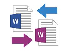 iki Microsoft word belgesini karşılaştıralım