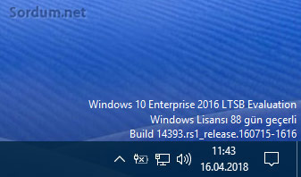 Windows 10 enterprise LTBS