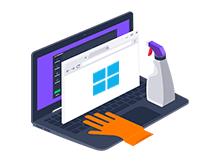 Windows 10 da programsız çöp temizliği