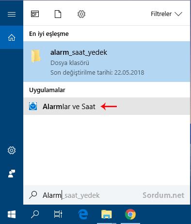 Alarmlar ve saat