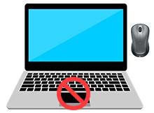 Usb fare takıldığında Touchpad devre dışı kalsın