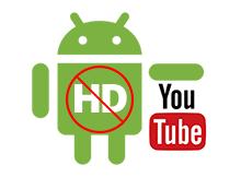 Mobil verideyken HD videoları oynatmasın