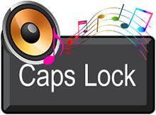 Caps lock Num Lock ses çıkarsın