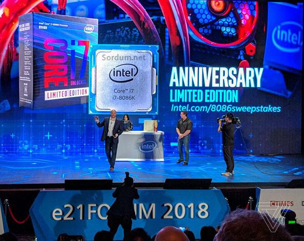 intel 8086 40.yıl kutlamaları