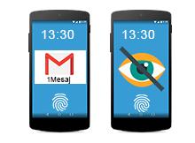 Android kilit ekranında Mesaj içeriği Görünmesin