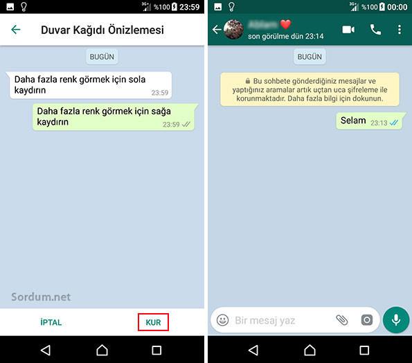 WhatsApp Duvar Kağıdı Değiştirme Nasıl Yapılır?