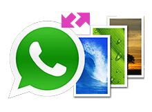 whatsapp de duvarkağıdı değiştirmek