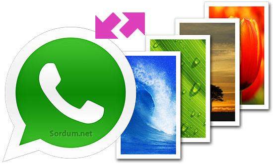 whatsapp ta duvar kağıdı nasıl değiştirilir