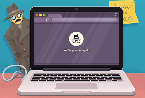 Chrome herzaman gizli modda başlasın