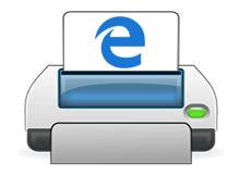 Microsoft EDGE yazdır özelliğini devre dışı bırakalım