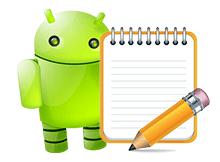 Android için not defteri uygulaması