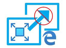 Microsoft Edge tam ekran modunda açılmasın
