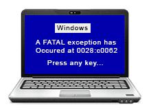 Eski işletim sistemi kurarken mavi ekran hatası