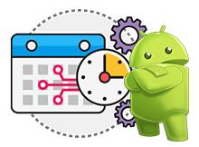 Android telefon istenen saate kapansın veya açılsın