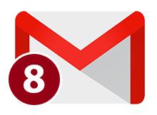 Gmail sekmede okunmamış ileti göstersin