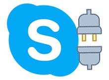 Skype çarpıya basıldığında kapanmasın