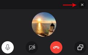 Skype küçük pencere