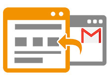 Gmailde filtreli yönlendirme