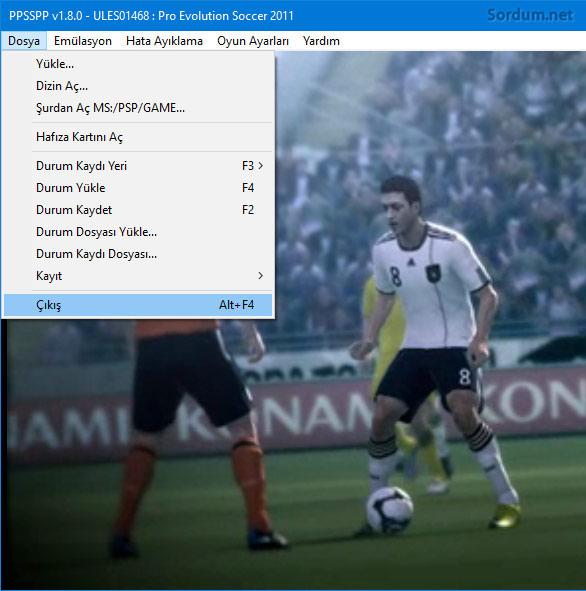 ppsspp oyunu kaydet