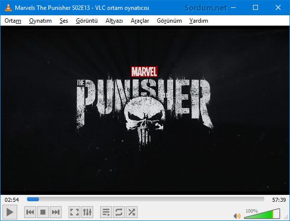 VLC de film seyretmek