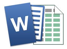 Microsoft Word a tablo nasıl eklenir