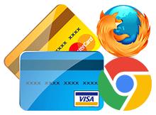 Firefox ve Chrome Kredi kartı bilgilerini kaydetmesin