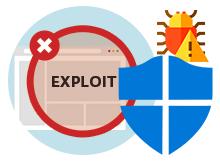 Exploit protection ayarları değiştirilemesin