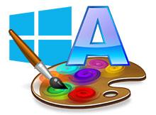 Windows ta yazı rengini değiştirelim