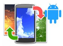 Android telefonda istediğiniz resmi duvar kağıdı yapın