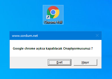 Google chrome ksıayolu