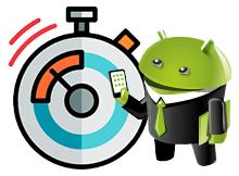 Android te kronometre nasıl çalışır