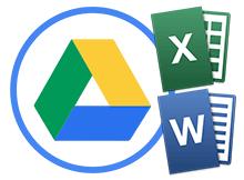 Word veya Excel belgelerini Google drive ile görüntüleyin