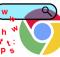 Chrome tarayıcı satırında www ve https yok
