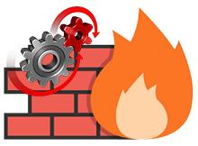 Güvenlik duvarı (Firewall) ayarlarına erişimi engelleyelim