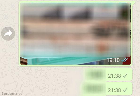 whatsapp tikler